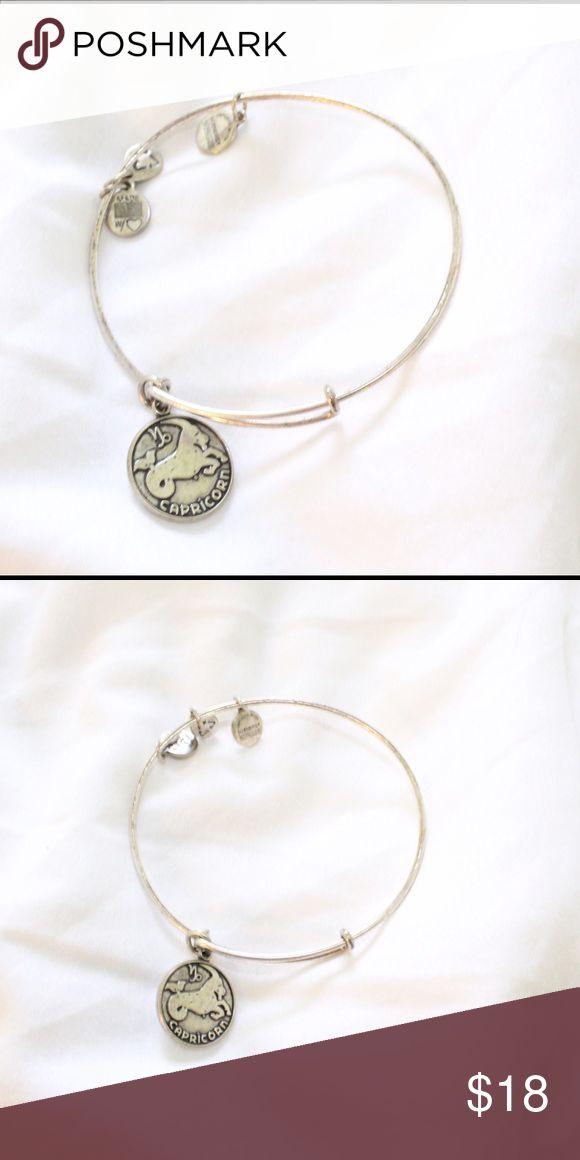 CAPRICORN ALEX & ANI BRACELET Silver Capricorn Zodiac alex & ani bracelet - pair with more for a cool look Alex & Ani Jewelry Bracelets