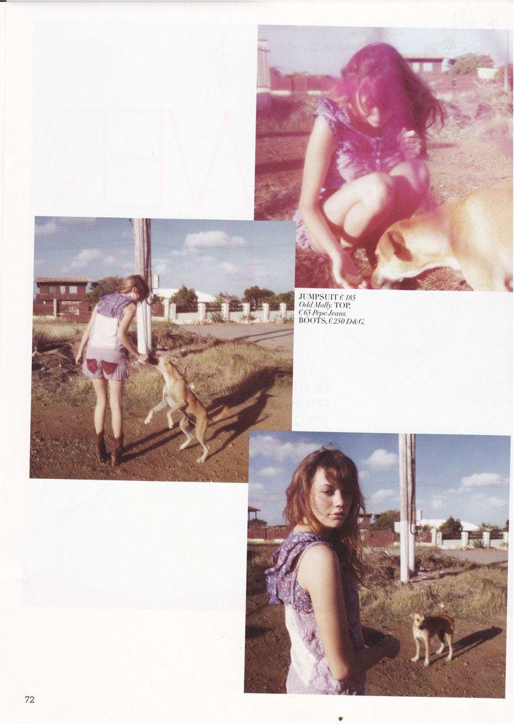 Odd Molly jumpsuit in Cosmopolitan Girl Netherlands, July 2010