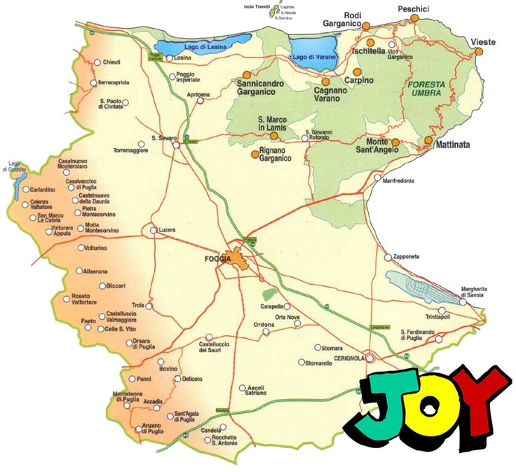 Map movie for World Joy day in Foggia province Italy wearehappy