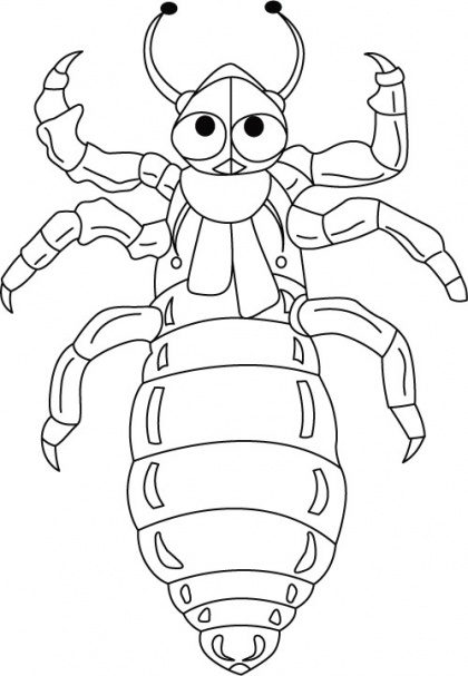 Superman bed bug-sucks human blood coloring pages | Download Free Superman bed bug-sucks human blood coloring pages for kids | Best Coloring Pages