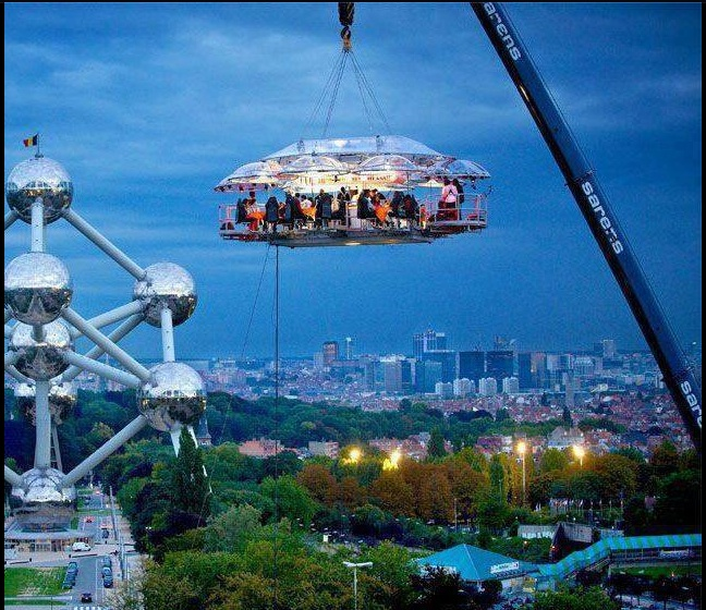 Dinner in the sky anyone?