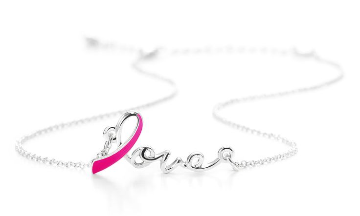 Love Ribbon Breast Cancer Awareness Necklace, 15 lei. Profits from the sale of this necklace will be donated to the Avon Breast Cancer Crusade.  Colierul Roz Love, 15 lei, https://www.avon.ro/539-606/produse-campanii-sociale/campania-impotriva-cancerului-la-san/