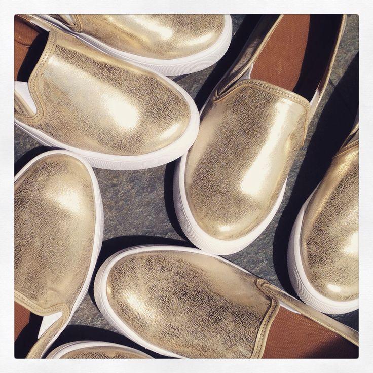 Slip-on Gold