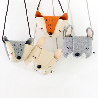 The cutest bags ever! For kids who love animals. Toyhood Store - Petit and Small Shopping