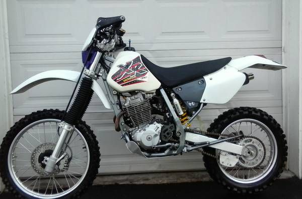 1996 honda xr400 titled and street legal motorcycles. Black Bedroom Furniture Sets. Home Design Ideas