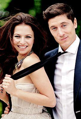 Anna Lewandowska and Robert Lewandowski
