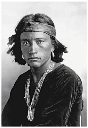 Navaho Boy by Carl Moon (1904)