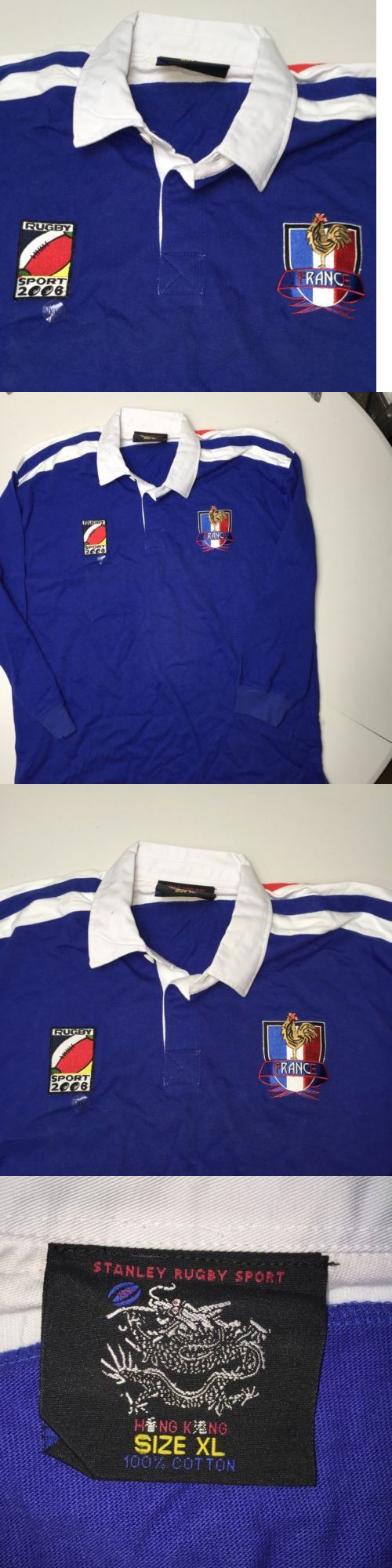 Rugby 21563: Scb Stanley Rugby Sport France Shirt New Blue 2006 -> BUY IT NOW ONLY: $49.85 on eBay!