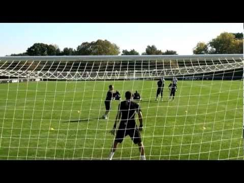 Shooting Drills, finishing with accuracy and power