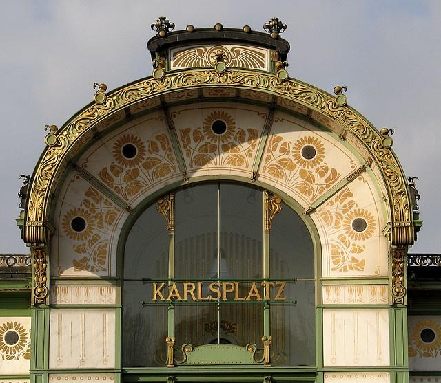 Vienna, Austria The Ubahn station at Karlsplatz