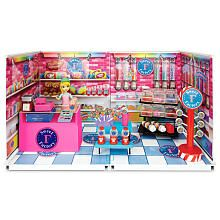 Mi World Deluxe Envrionment Set with Doll - Sweet Factory