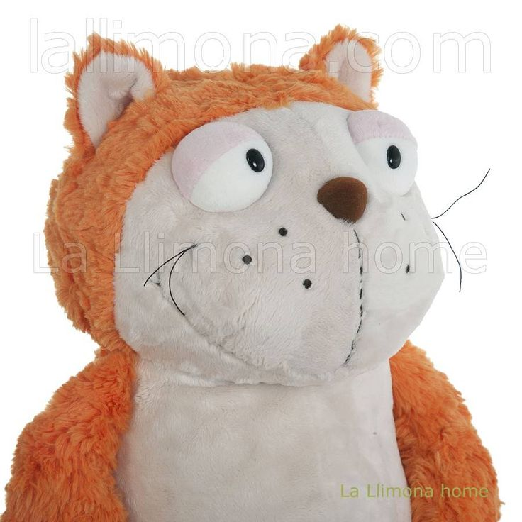 Nici peluches y complementos - Nici gato Hungry peluche 25