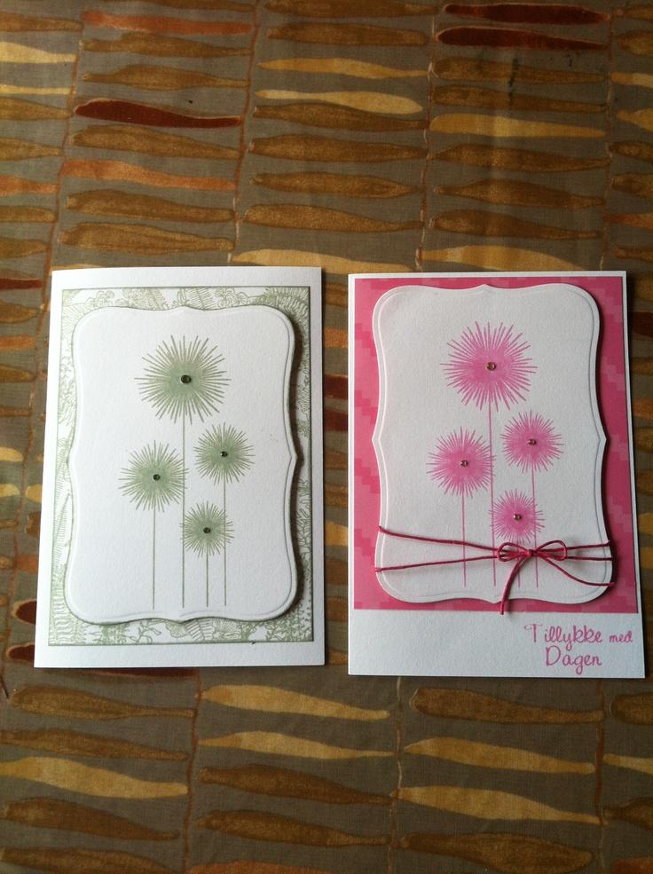 Blomster stempel
