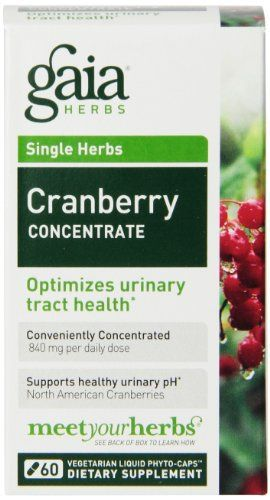 Gaia Herbs Cranberry Concentrate optimizes urinary tract health. Cranberry has a long history of use – now backed by modern science – for supporting the health of the urinary tract. Made from organic cranberries, Gaia's Cranberry Concentrate is a convenient alternative to eating... more details at http://supplements.occupationalhealthandsafetyprofessionals.com/herbal-supplements/cranberry/product-review-for-gaia-herbs-cranberry-concentrate-liquid-phyto-capsul