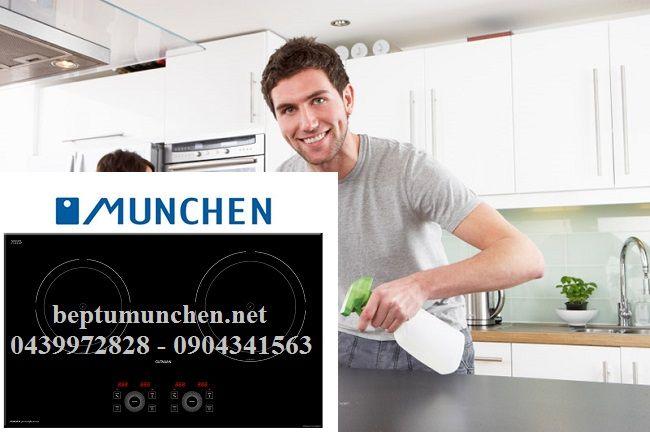Cách vệ sinh bếp từ Munchen nhanh chóng đơn giản: