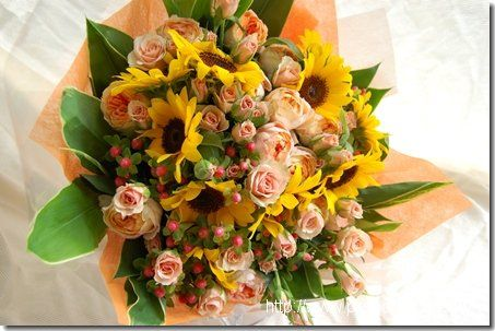 Bouquet sunflower  向日葵の花束