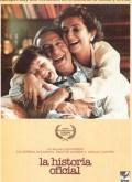 """La historia oficial  The official story  La primera película argentina en ganar un Oscar a """"mejor película de habla no inglesa"""". También estuvo nominada en la categoría de que premiaba al """"mejor guión original"""".  Entre otros reconocimientos en festivales nacionales e internacionales, el film de Luis Puenzo se hizo además con el Golden Globe (a película de habla no inglesa) y dos premios en el festival de Cannes (premio del jurado y mejor actriz, por Norma Aleandro)."""