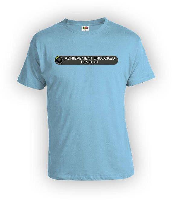 21st Birthday Gift Ideas For Him Video Game Shirt Gamer T