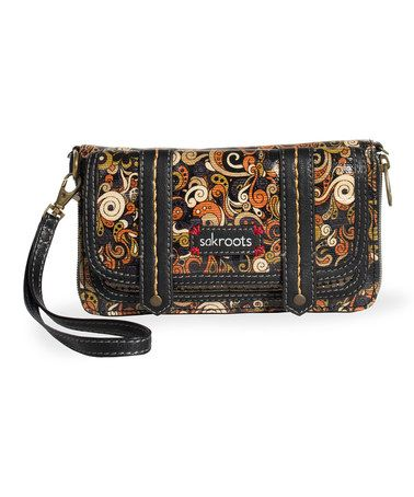 Take a look at this Metallic Dreamland Artist Circle Flap Wallet by Sakroots on #zulily today!