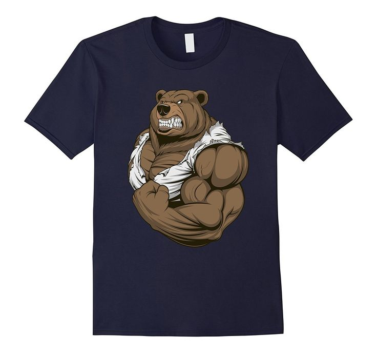 Muscle Bear Tshirt | Mr Bear Tshirt | Father's Day Tshirt