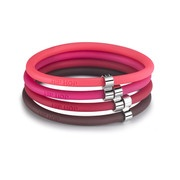 Bracciale Hip Hop Jewels Glam Pink Cherry