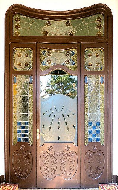 87 besten Art Nouveau DOORS Bilder auf Pinterest Fenster - glasbilder für küche