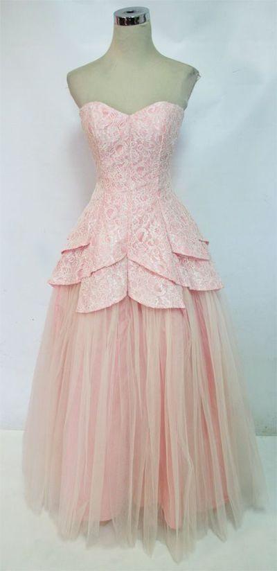 Charming Prom Dress,Sweetheart Prom Dress,Tulle Prom Dress,Lace Prom Dress P662