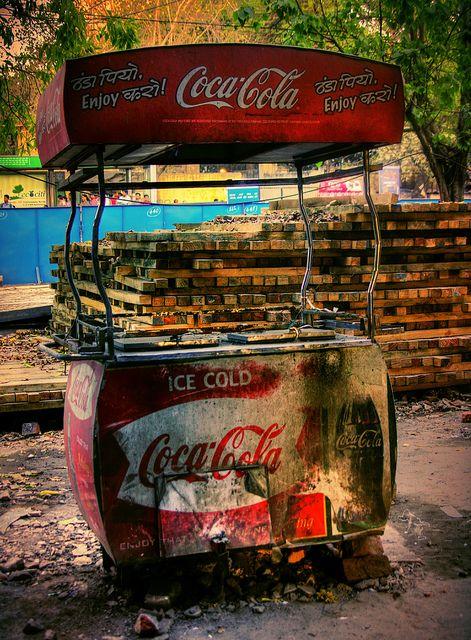 Coca Cola Cart
