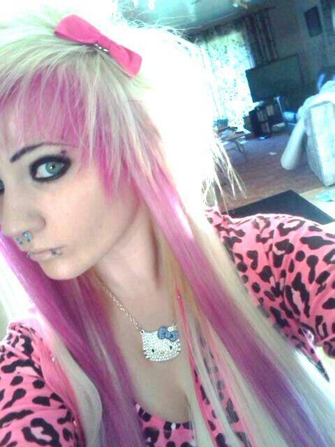 Blonde & pink