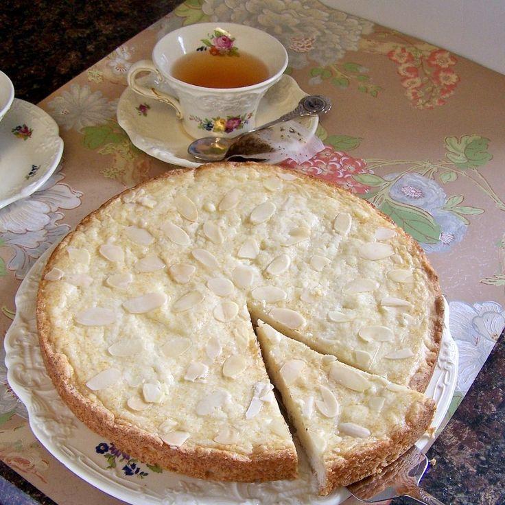 Butter Cake (Boterkoek) - A traditional Dutch almond butter cake