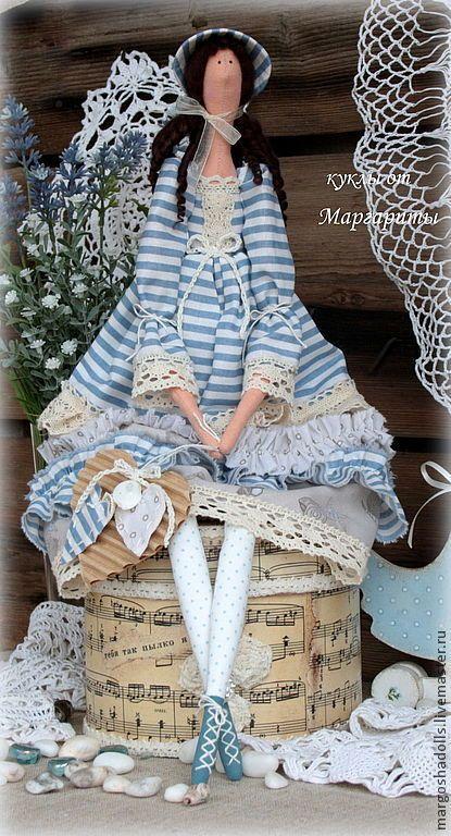 Купить или заказать Кукла тильда Луиза-Виктория. в интернет-магазине на Ярмарке Мастеров. Романтичная барышня Луиза-Виктория.Обожает морские прогулки.очень мечтательная и нежная.Послужит отличным подарком.а так же украшением интерьера.