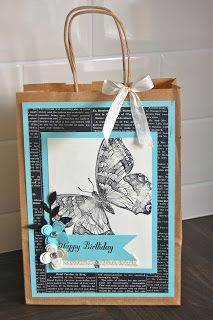 Julie's Japes - A Top Independent Stampin' Up! Demonstrator in the UK: Matching Gift Bag