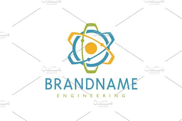 For sale. Only $29 - atom, science, cogwheel, circle, energy, fusion, core, quantum, play, gear, engine, orbit, rotate, physics, nuclear, bent, cog, engineering, machine, research, lab, development, power, technology, media, play, video, triangle, logo, design, template,