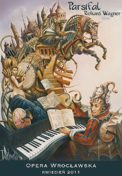 "Tomasz Sętowski ""Parsifal""  - Polish Poster"