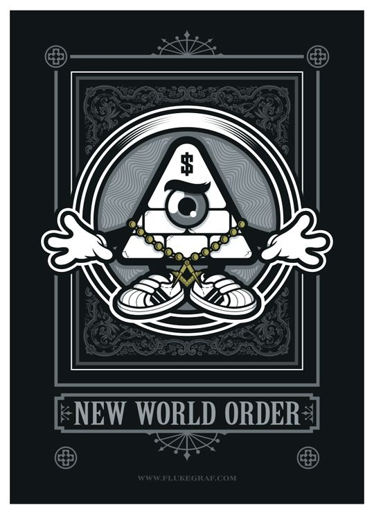 I like this one NEW WORLD ORDER by FLÜKE