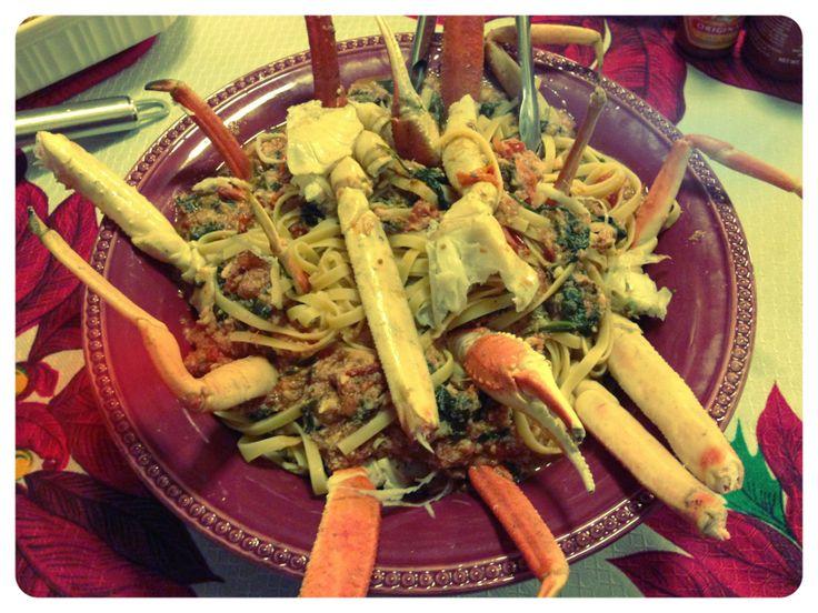 Our Italian-American cena della vigilia di Natale