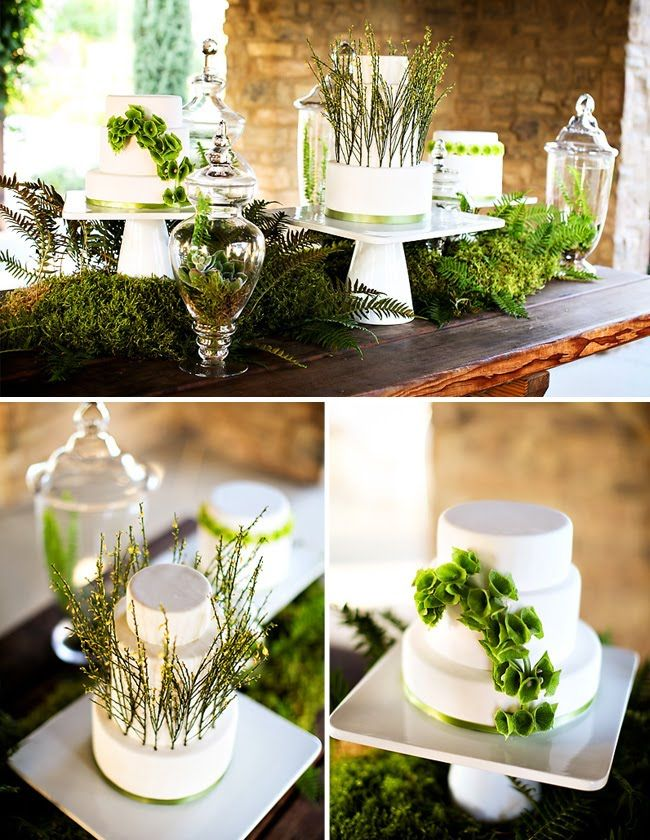 I like the organic feel this emits! Totally could see myself using this for a wedding reception.