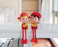 Китайский украшение для свадебного торта ботворезы смолаы настольные украшения невеста и жених фигурка торт топпер украшения день святого валентина подарок(China (Mainland))