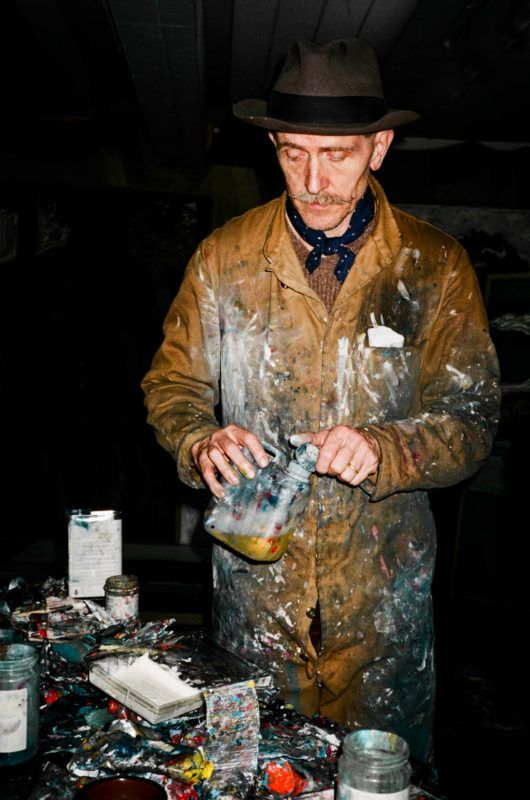 Chatham Town Welcomes Desperate Men: Studio visit with legendary artist Billy Childish