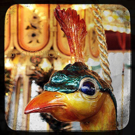 Fairground  Carousel merry go round ttv 5 x 5 by irisoconnor