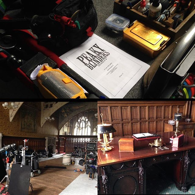 A few photos behind the scene of PeakyBlinders in Rochdale Town hall this week😬💯😘💚 #peakyblinders #rochdale #behindthescenes #filming #s4 #cillianmurphy #thomasshelby #packylee #johnnydogs #joecole #johnshelby #paulanderson #arthurshelby #jordanbolger #isaiah #harrykirton #finnshelby #finncole #michaelgray #tomhardy #alfiesolomons #steveknight #adrianbrody