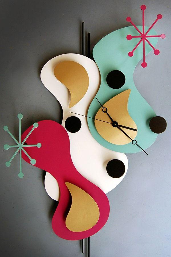ultra modern clocks   Desain Jam Dinding Modern untuk Dekorasi Dinding