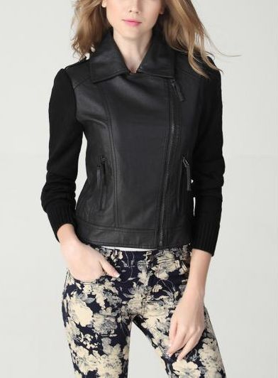 Leather jacket low cost!