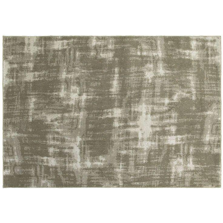 StyleHaven Riley Fading Shadows Abstract Plush Rug, Beig/Green (Beig/Khaki)