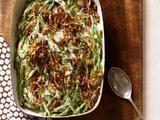 Casserole Recipe : Green Bean Casserole With Crispy Shallots
