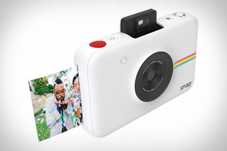 The Polaroids of old were popular not because they were great photographic tools, but because they were fun. The Polaroid Snap Instant Camera offers a similar feeling of casual spontaneity, updated for modern times. Each time you snap a photo,...