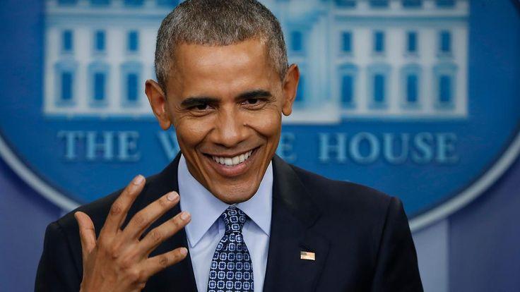 Letzte Pressekonferenz seiner Amtszeit: Obama will sich im Notfall einmischen
