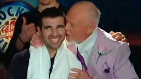 Did You See That? Grapes plants kiss on Nazem Kadri - http://f3v3r.com/2013/03/31/did-you-see-that-grapes-plants-kiss-on-nazem-kadri/