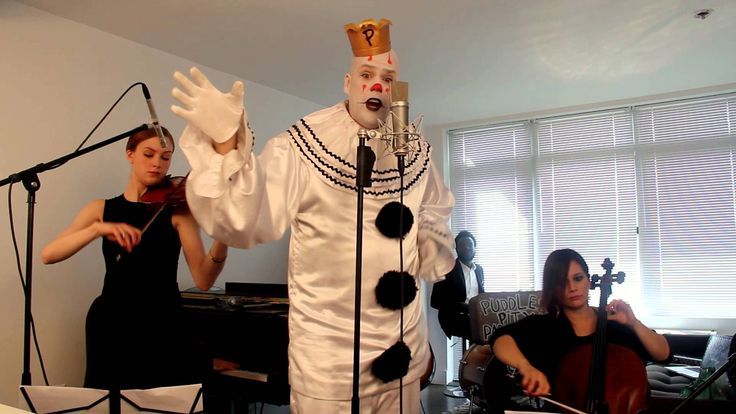 """Chandelier - """"Sad Clown with the Golden Voice"""" Sia Cover ft. Puddles"""