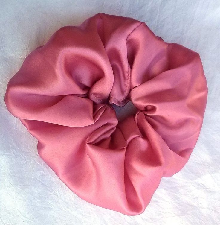 Rose Pink Silk Scrunchy Large -- Check out this great product.
